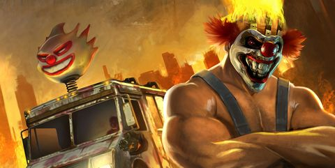 twisted metal serie playstation productions