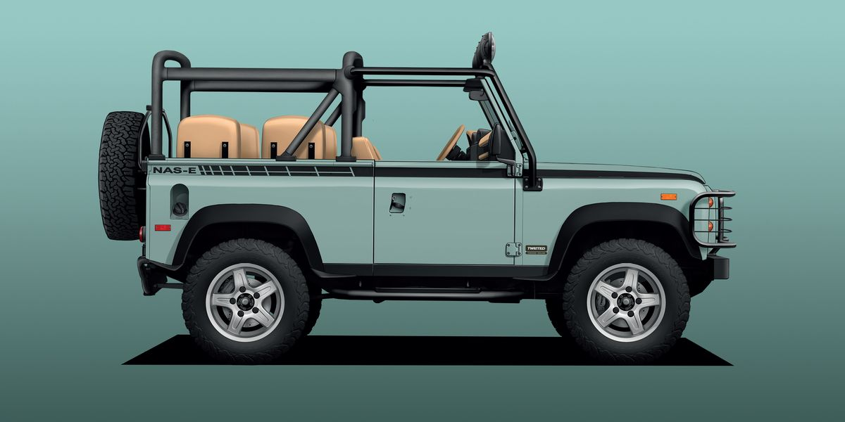 Land Rover Defender Classic Models Go Electric, but at a Shocking Price