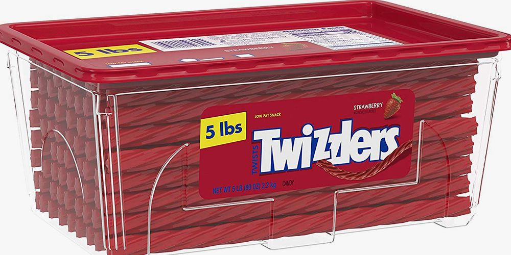 This 5-Pound Box of Twizzlers Is the Best $15 You'll Spend on Amazon Prime