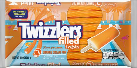 Orange Creamsicle-Filled Twizzlers Are Back Just in Time for Summer