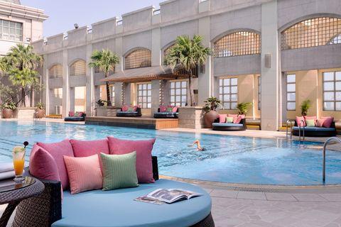 漢來大飯店 泳池