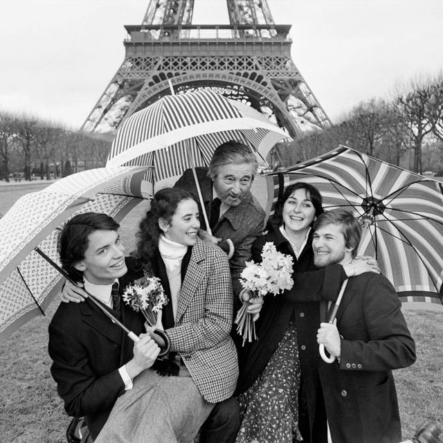 FRANCE-EIFFEL TOWER-VALENTINE'S DAY-FEATURE