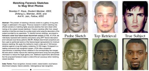 academic study facial recognition