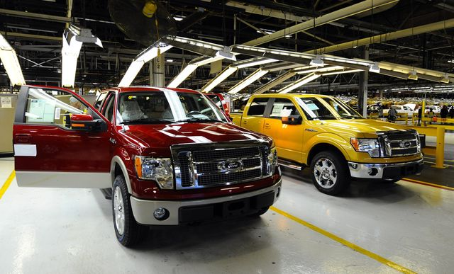 ford launches 2009 version of f 150 pickup truck
