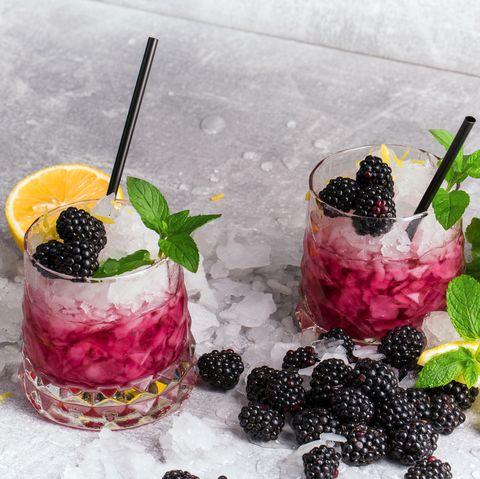 Bramble cocktail- best gin cocktails