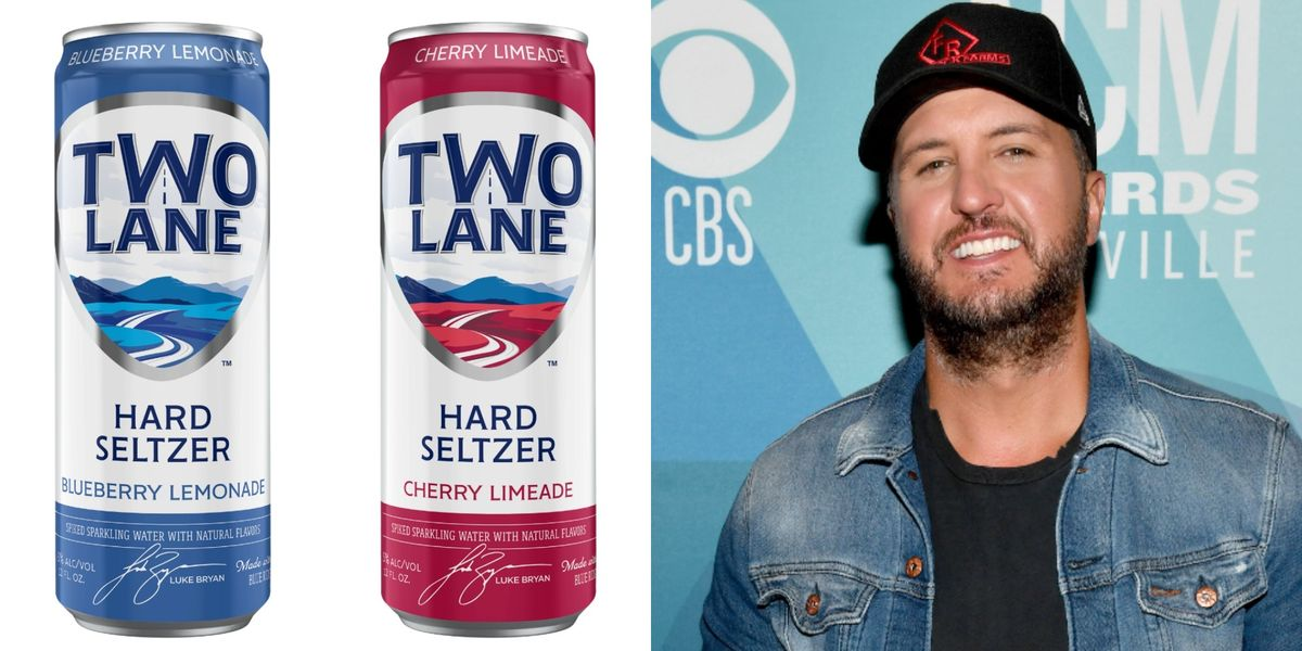 Luke Bryan's New Line Of Hard Seltzers Has Us SO Excited For Summer Weather
