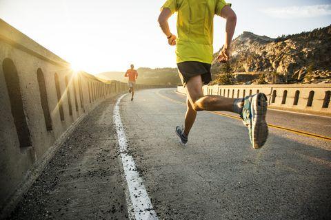 Dehydration after run