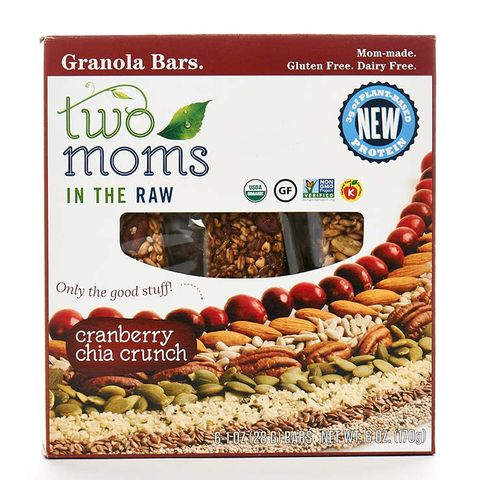 Two Moms in the Raw Cranberry Chia Crunch Granola Bar