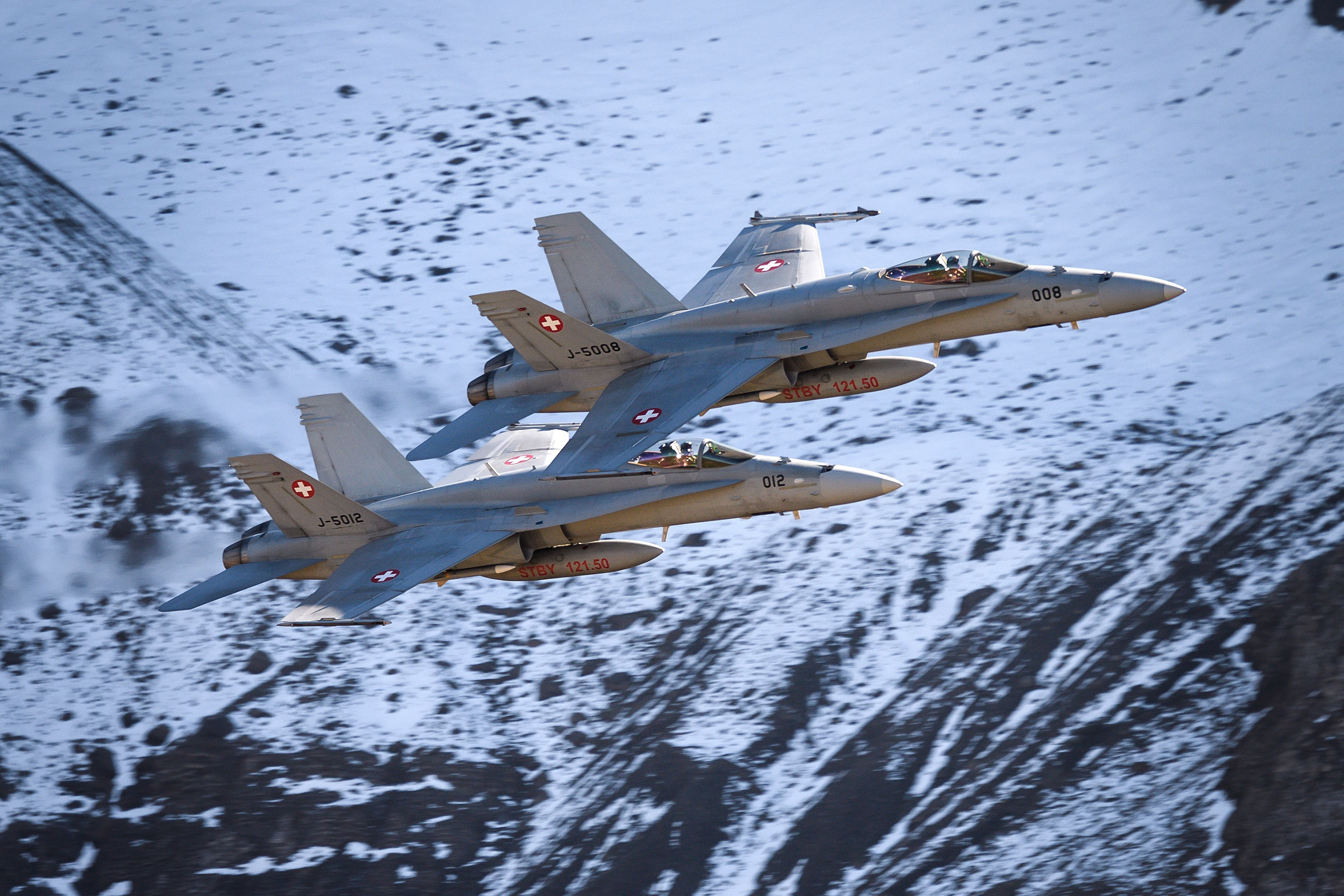 Switzerland Hasn't Gone to War in 200 Years. Why Does It Need New Fighter Jets?