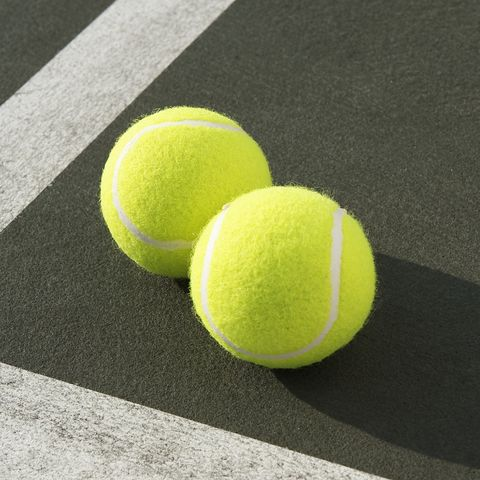 Google Image Result For Https Hips Hearstapps Com Hmg Prod S3 Amazonaws Com Images Two Tennis Balls On Tennis Court Elevat In 2020 Tennis Wallpaper Ball Tennis Balls