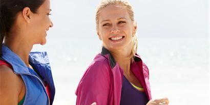 workout pain and injuries women walking