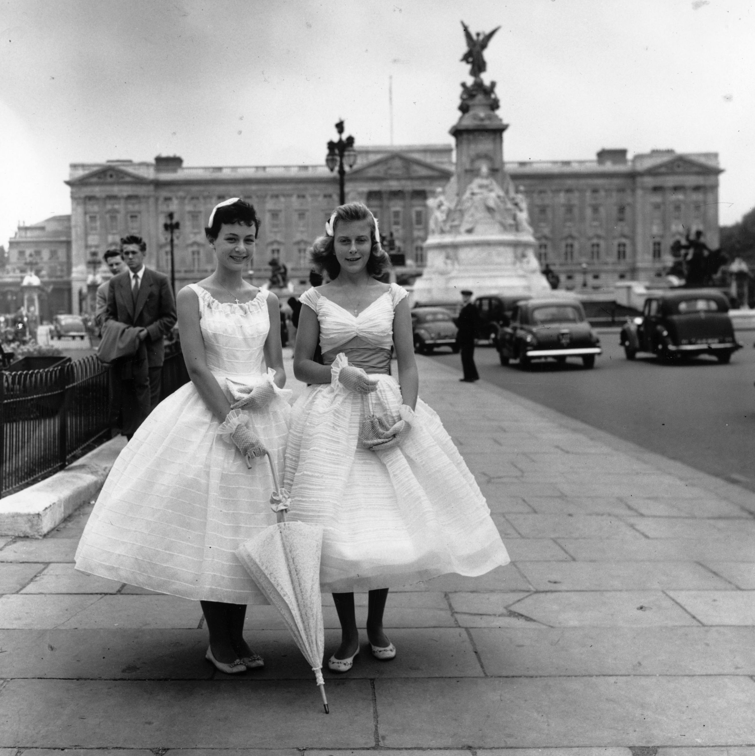 A Look Back at the Queen's Garden Parties Throughout History