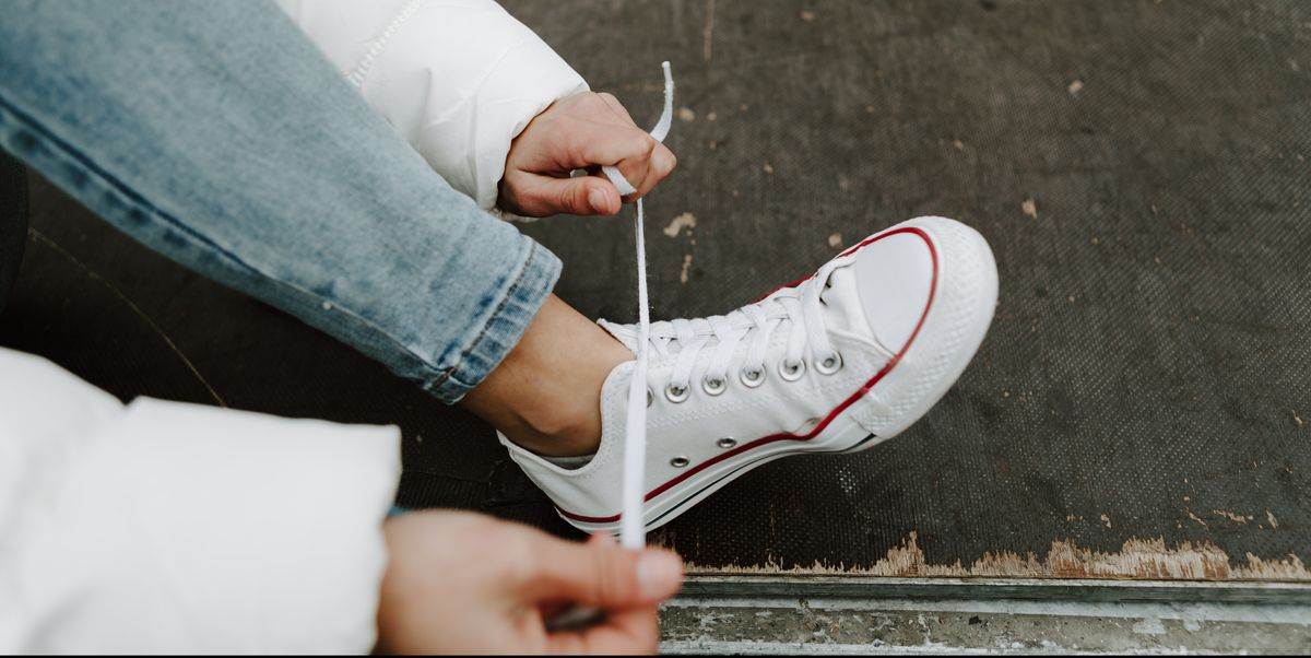 How to Clean White Converse Sneakers, According to the Experts