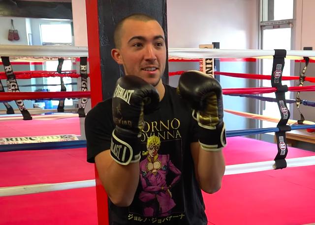 youtuber entrenamiento de boxeador a lo mike tyson