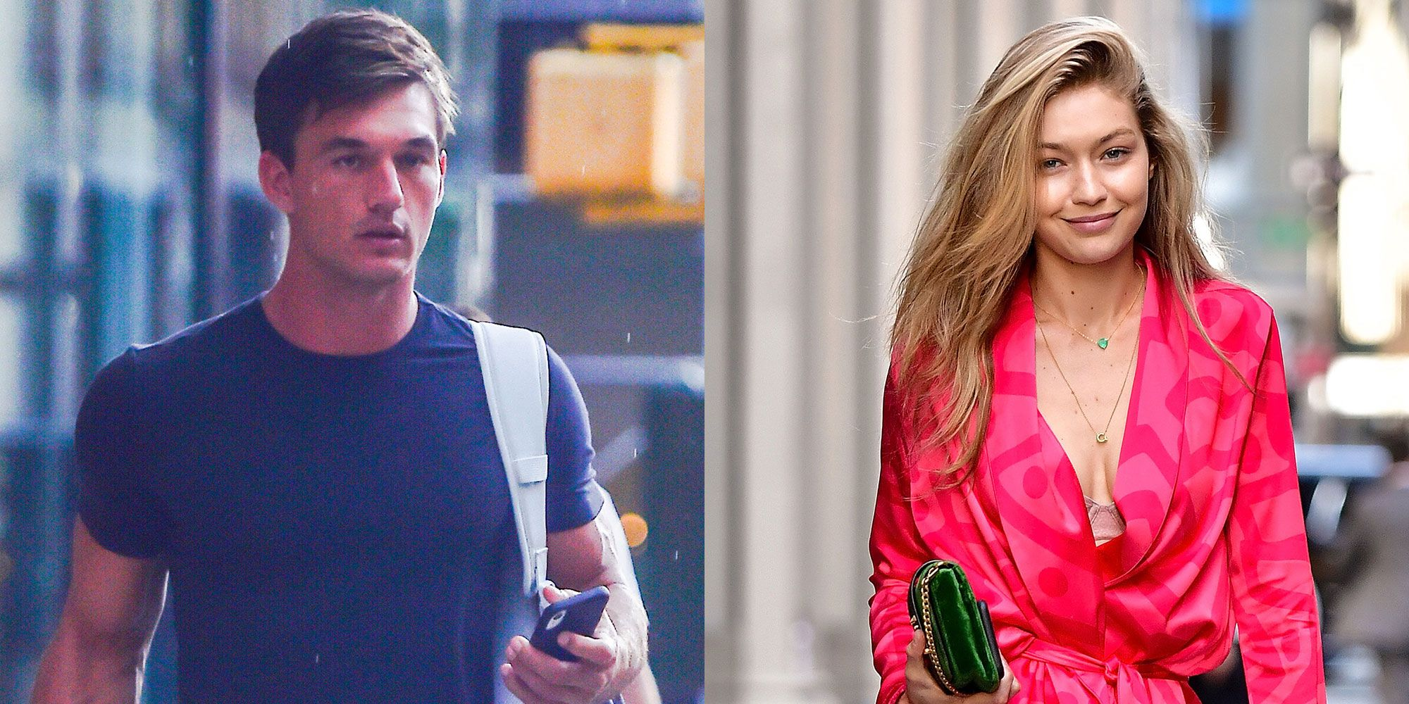 Tyler Cameron Was Seen Leaving Gigi Hadid's Apartment the Morning After Their Dinner With Serena Williams