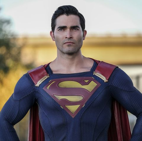 tyler hoechlin superman the cw supergirl