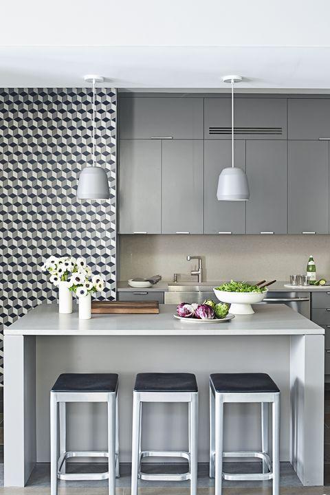 14 Grey Kitchen Ideas - Best Gray Kitchen Designs and ...