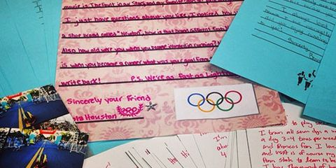 Tyler McCandless pen pal letters