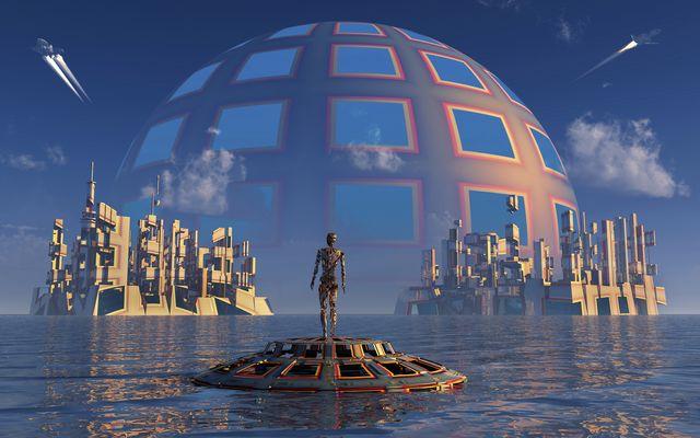 a type 2 dyson sphere civilization