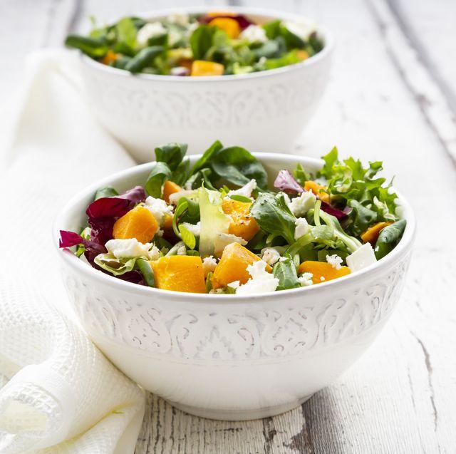 types of lettuce salad bowl