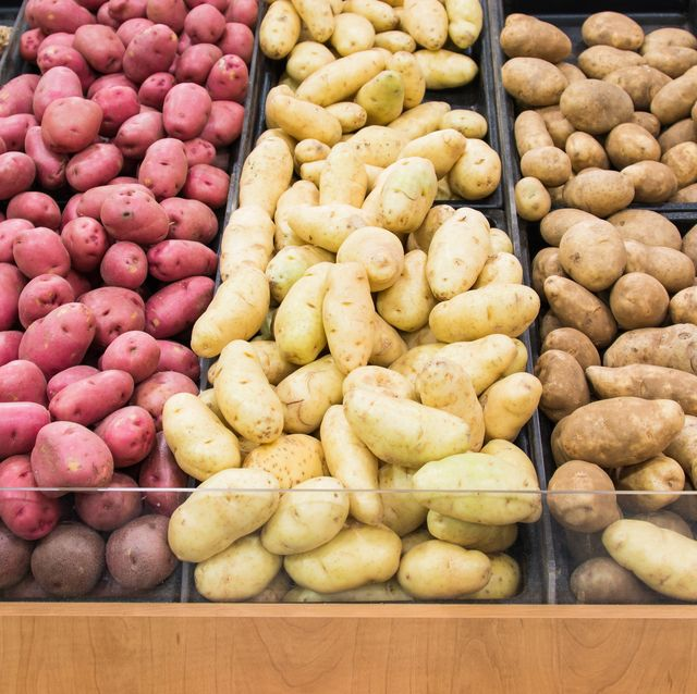 types of potatoes different kinds of potatoes