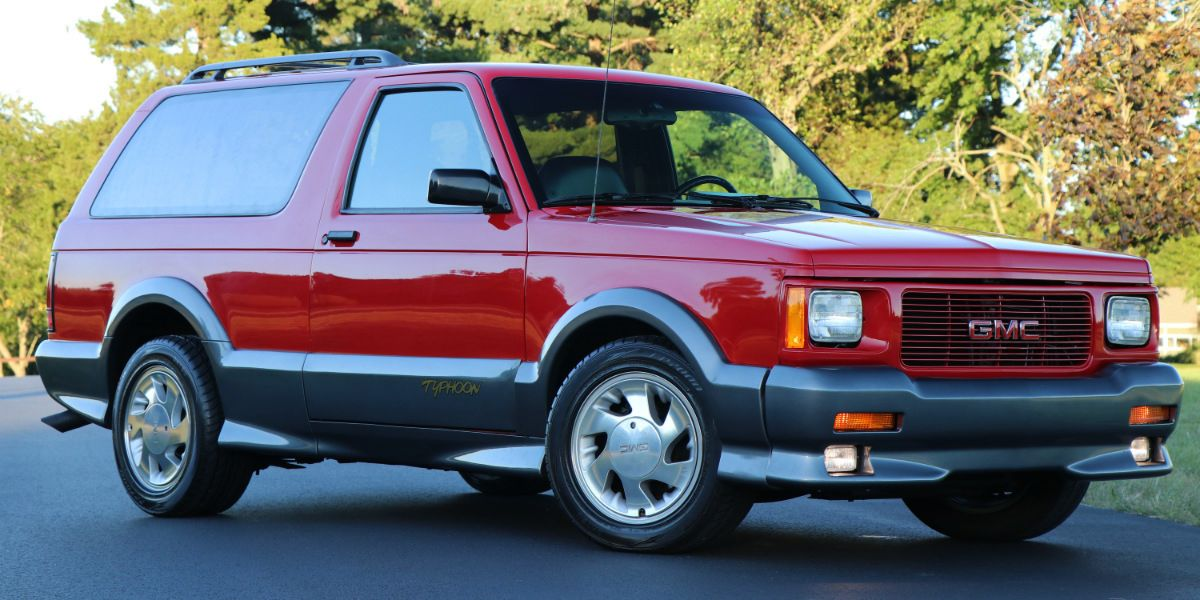 This 1993 GMC Typhoon Looks Brand New