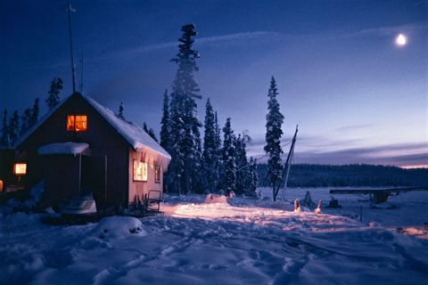 typical house in alaska, united states