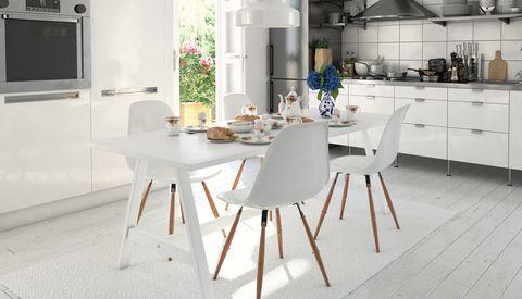 sillas comedor estilo nórdico
