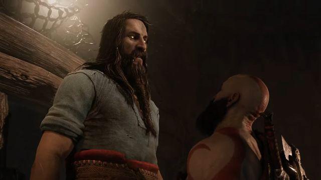 tyr y kratos en god of war ragnarok