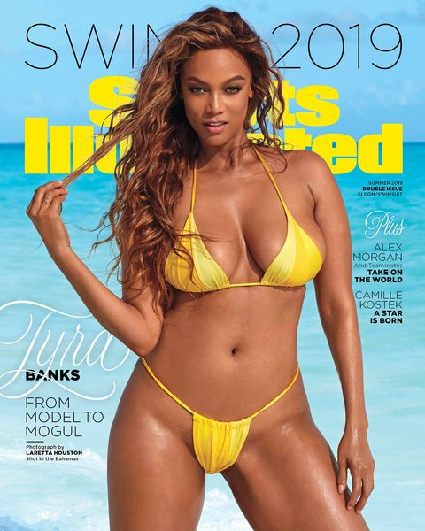 aba951d3041 Tyra Banks Talks Body Positivity in SI Swimsuit Cover 2019