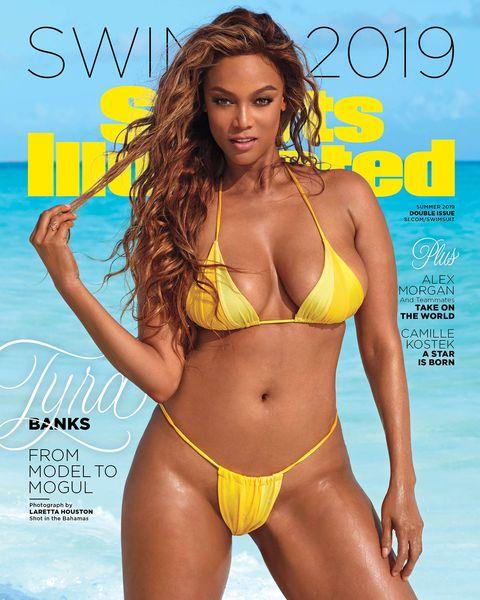 15ecb517666 Tyra Banks Talks Body Positivity in SI Swimsuit Cover 2019