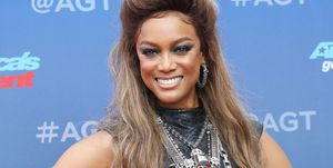 Tyra Banks at the premiere of America's Got Talent
