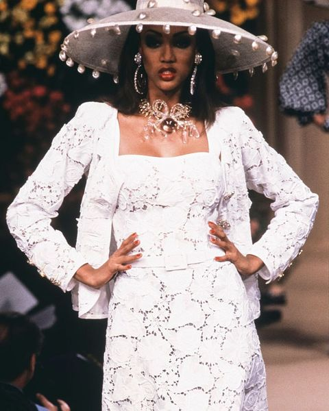 supermodels, first runway, last runway, modelling, career, transformation, debut, tyra banks, yves saint laurent, 1992