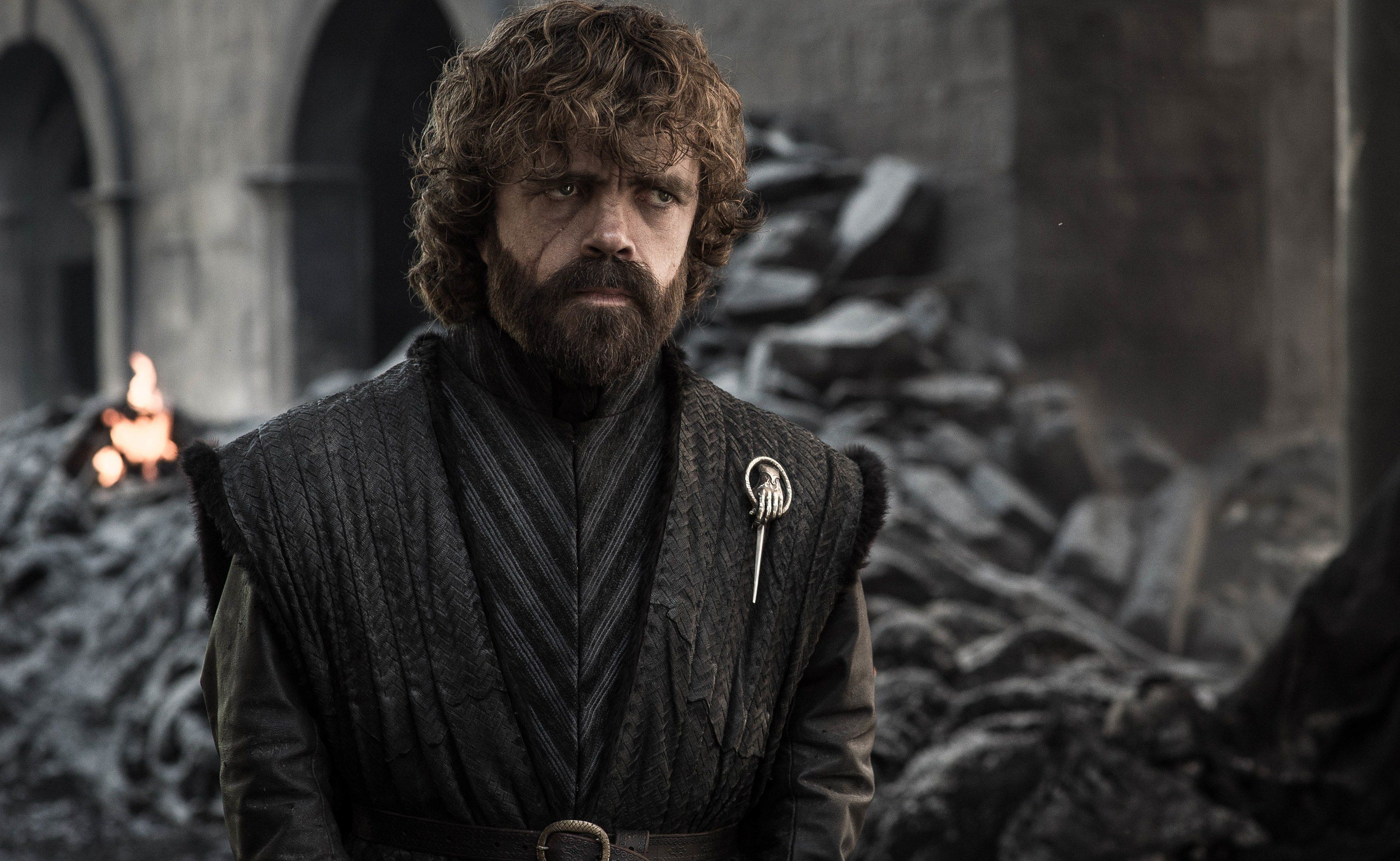 Juego de Tronos Tyrion Gobernante Poniente - Trono de Hierro Final