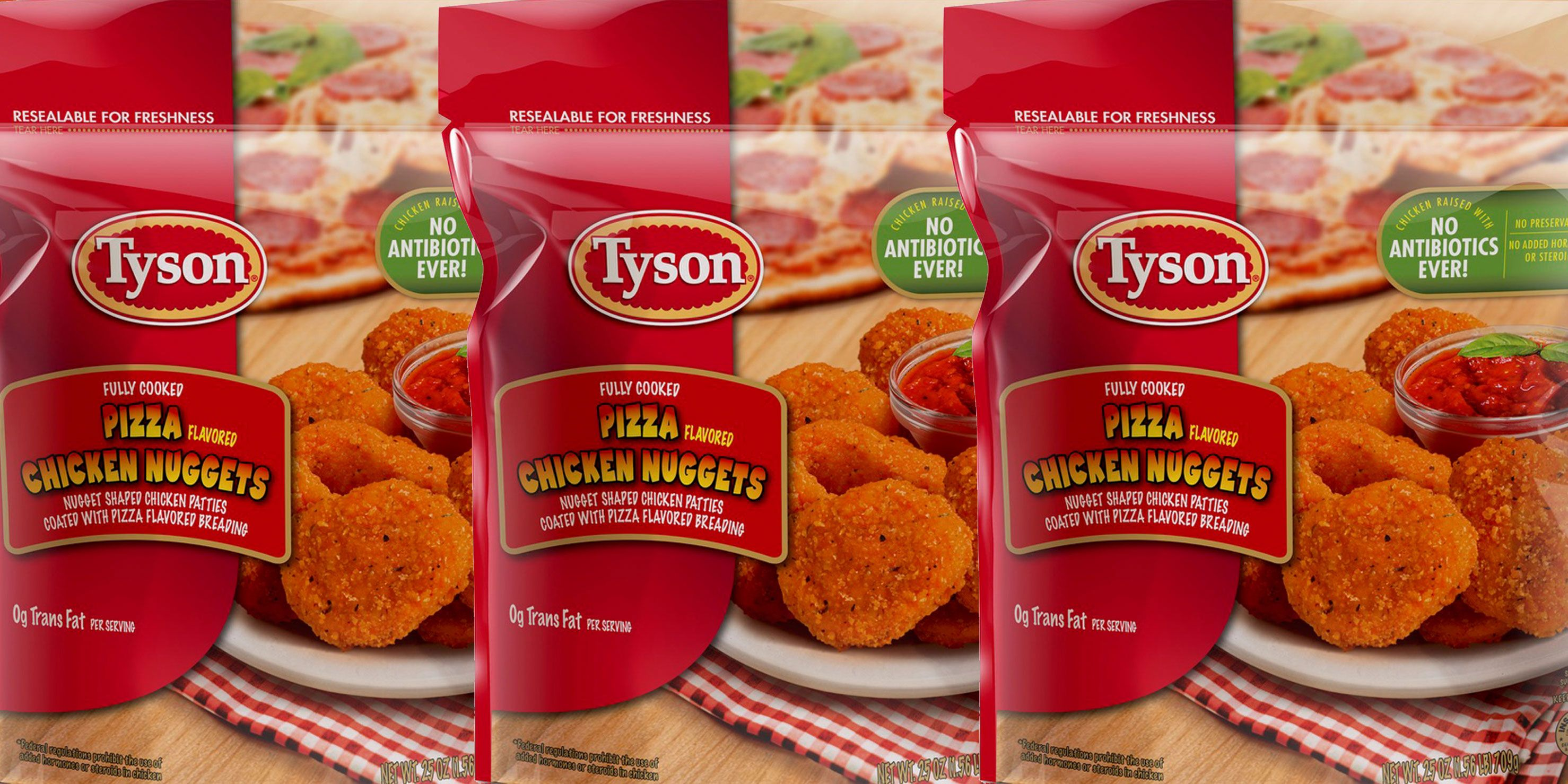 Image result for tyson pizza chicken nuggets