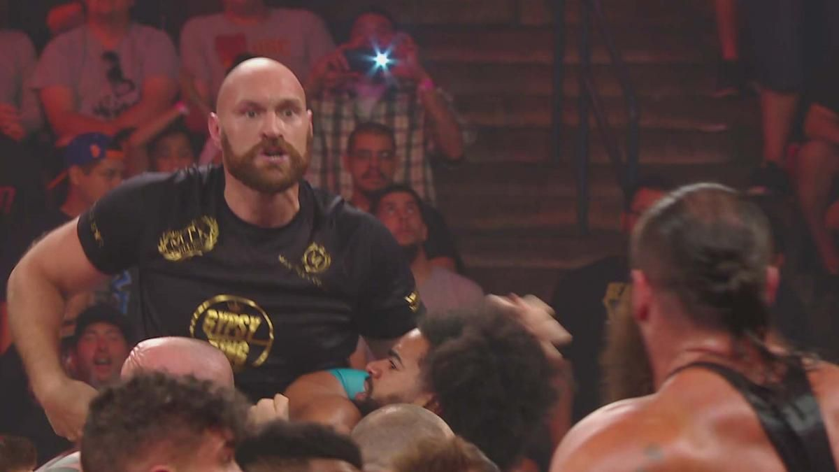 WWE Raw results: 6 things we learned as Tyson Fury gets These Hands before the Draft
