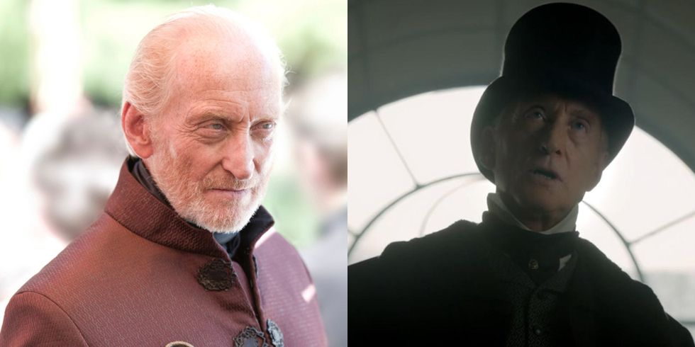 Charles Dance After ending his time on GOT , Dance took on a couple of small roles before coming back as another intimidating patriarch in Victor Frankenstein .