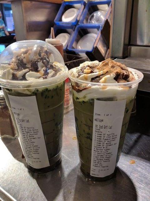 Insane Starbucks Orders Craziest Starbucks Orders Ever
