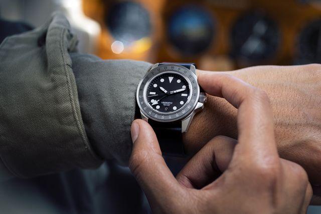 hodinkee x unimatic h series gmt