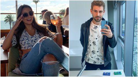 Jeans, Eyewear, Denim, Photography, Sunglasses, Selfie, Drink, Drinking,