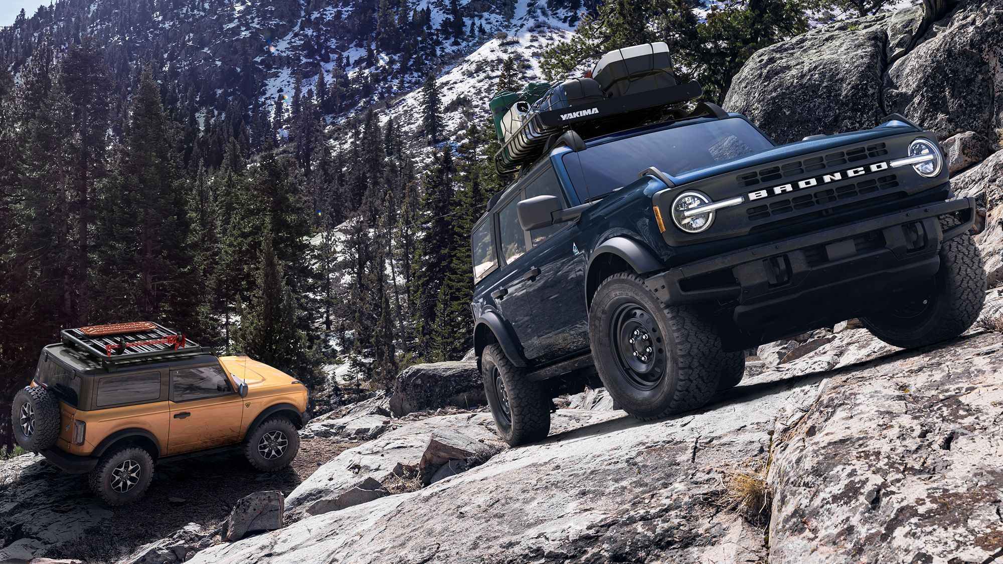 Here S What The Ford Bronco S Six Trim Levels Are All About