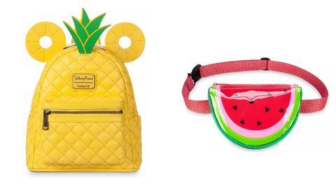 Fruit, Pineapple, Yellow, Watermelon, Coin purse, Melon, Plant, Font, Citrullus, Bromeliaceae,