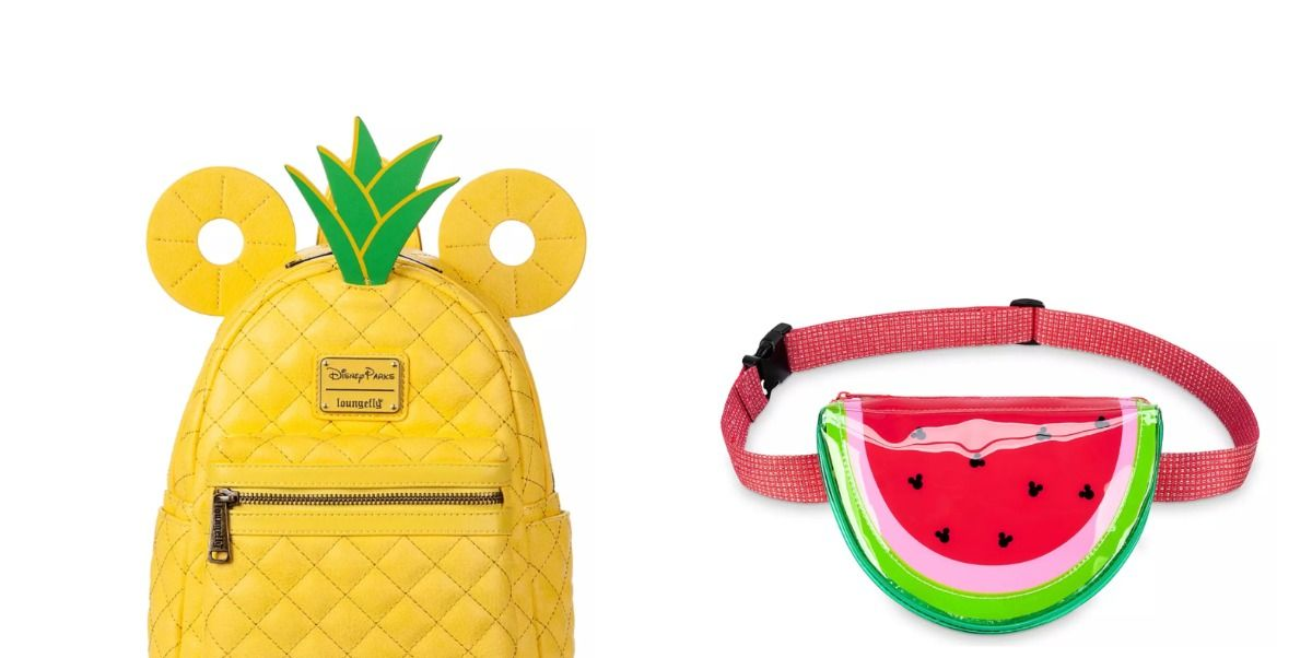 Disney's New Collection Has Pineapple And Watermelon-Shaped Bags