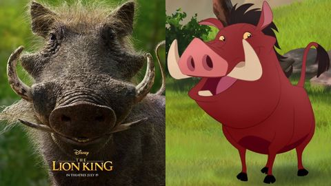 Lion King Pumbaa Backlash Live Action Lion King Reactions