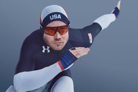 Under Armour speed skating olympics