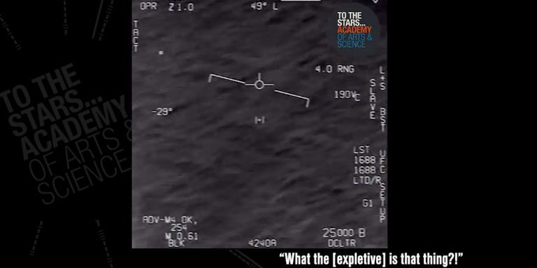 The Navy Says Those UFO Videos Are Real