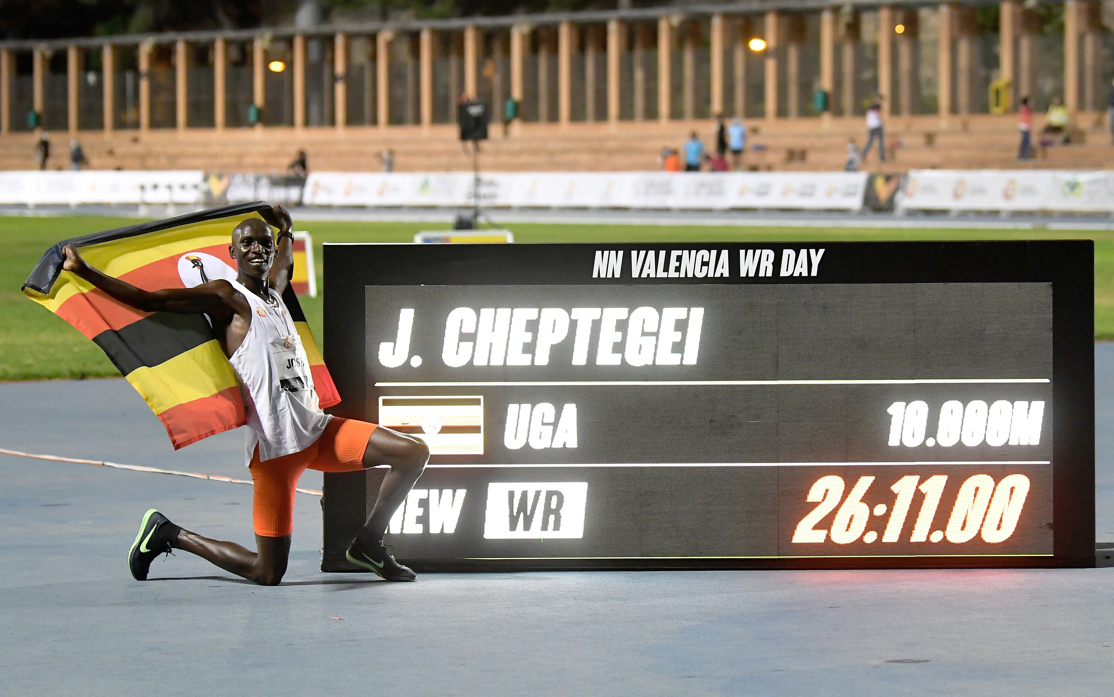 Joshua Cheptegei World Record | Cheptegei Breaks 10,000-Meter Record