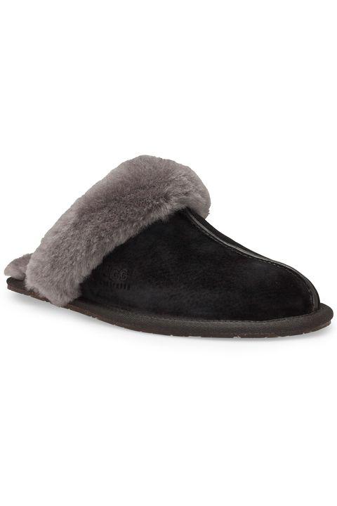 Footwear, Slipper, Shoe, Brown, Beige, Suede, Leather,