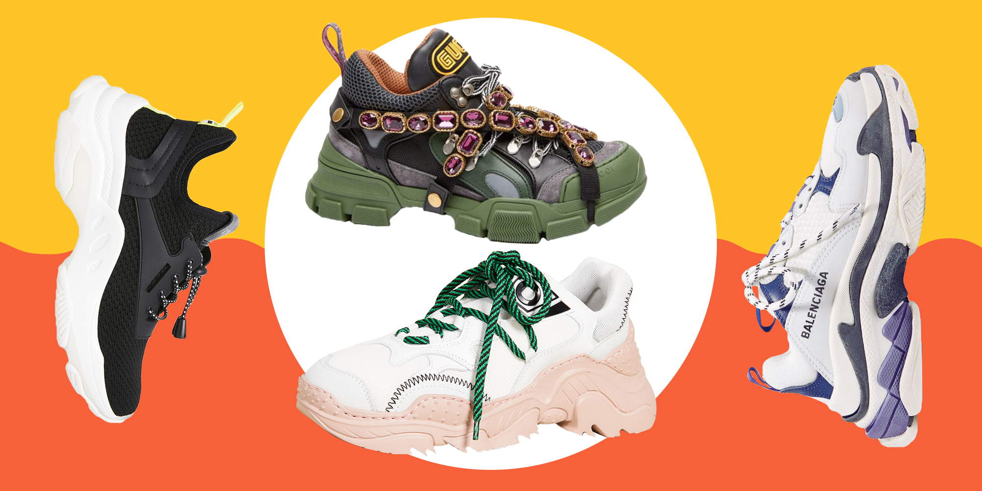 15 Best Ugly Sneakers Of 2019 , How To Wear The Dad Sneaker