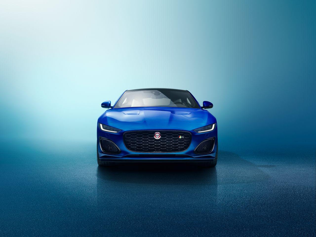 Jaguar Has Unveiled Its New F-Type